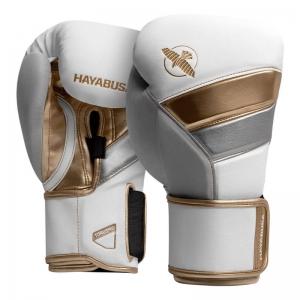 Hayabusa T3 Boxing Gloves – Fehér / Arany