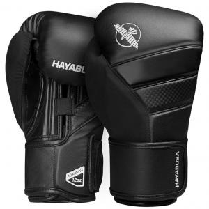 Hayabusa T3 Boxing Gloves – Fekete / Black