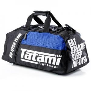 Tatami Jiu Jitsu Gear v2 Sporttáska – Fekete / Kék / Black / Blue