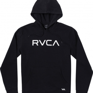 "RVCA ""BIG RVCA"" Kapucnis pulóver – Fekete / Black"