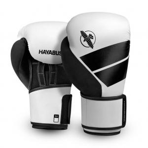 Hayabusa S4 Boxing Gloves – Boxkesztyű – Fehér /Fekete